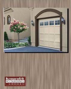 Beautify the exterior of your home with a elegant fiberglass garage door   Home Advice   Pinterest   Fiberglass garage doors Garage doors and Garage door ... & Beautify the exterior of your home with a elegant fiberglass ... pezcame.com