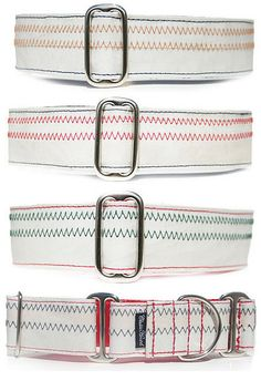 Sailcloth Dog Collar