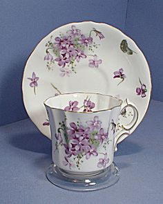 Hammersley violets Cup and Saucer...