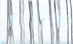 In The Forest by Tatiana Vela. Inspired by Anselm Kiefer. Anselm Kiefer, Forest Illustration, Inspired, Abstract, Drawings, Artwork, Inspiration, Image, Sketches