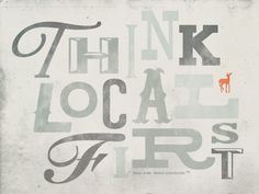 Try shopping local first!