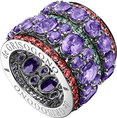 De Grisogono Jewelry Melody of Colours Collection Ring