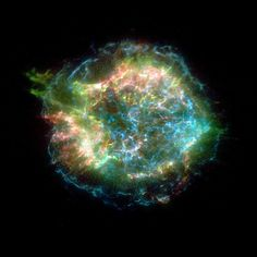 Cassiopeia A, supernova remnant