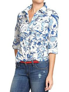 Womens Printed Shirts