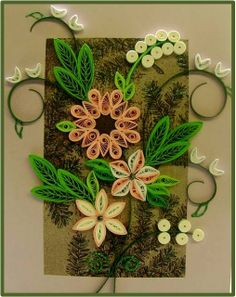 Quilling Me Softly: A random card