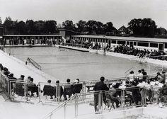 Amsterdam noord Floraparkbad opening 1937