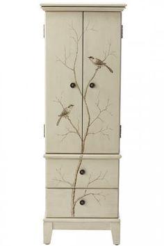 Chirp Jewelry Armoire - Jewelry Organization - Storage & Organization   HomeDecorators.com
