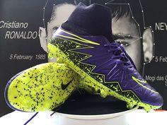 Nike Hypervenom Phantom II FG Soccer Cleats Purple Black Green On Sale