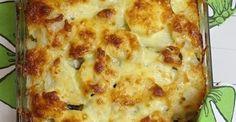 Zobacz sprawdzony przepis z bloga agusiowegotowanie.blogspot.com! Polish Recipes, Ham And Cheese, Roasted Potatoes, Cakes And More, I Love Food, Lasagna, Food To Make, Dinners, Food And Drink