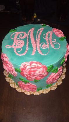 meet bellas baby shower cake