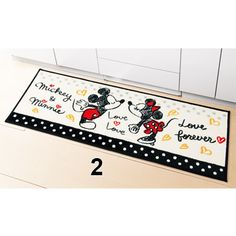 Mickey & Minnie mat series