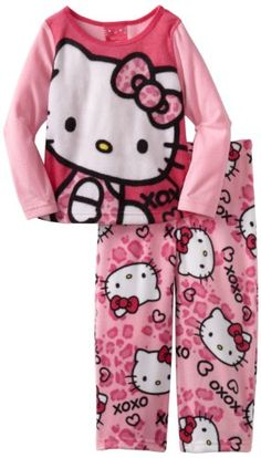 Sleepwear Capable Hello Kitty Sanrio Girls Pink Nightgown Size 2t Baby & Toddler Clothing