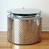 Up Cycled Washing Machine Drum Lamp | Washing Machine Drum, Washing Machine  And Drums