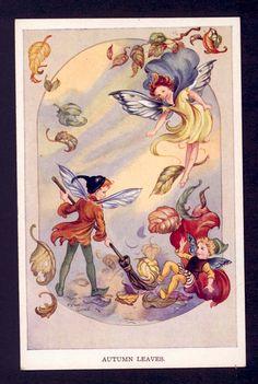 Rene Cloke *~❤•❦•:*´`*:•❦•❤~* English - vintage postcard