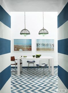 9 Rooms That Prove Blue And White Make The Perfect Pair