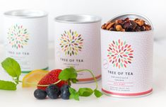Their goal was to transfer the content onto the packaging by intergrading the colors of the tea onto the new logo. They achieve their goal w...