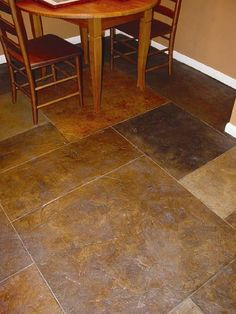 Stamped concrete floors for interior of my next house build. Heated too! When foor goes down- flooring done!