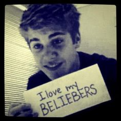 and we love u to Justin :) <3