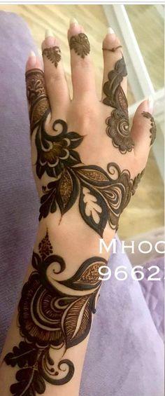 Pakistani Henna Designs, Arabic Bridal Mehndi Designs, Khafif Mehndi Design, Mehndi Designs For Kids, Henna Designs Feet, Floral Henna Designs, Mehndi Designs For Beginners, Mehndi Design Photos, Henna Designs Easy