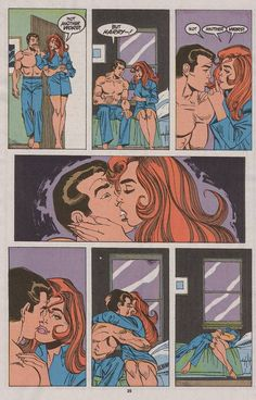 Favorite MJ/Peter(Spidey) moments - Mary Jane - Comic Vine Some great moments with my favorite couple in comics Comic Book Pages, Comic Book Covers, Comic Books, Spectacular Spider Man, Amazing Spider, X Men, Funny Toons, Vintage Comics, Marvel Memes