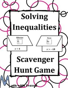 My principal walked into my room when we were doing this scavenger hunt. He was amazed how engaged all my students were with this activity. Algebra 1