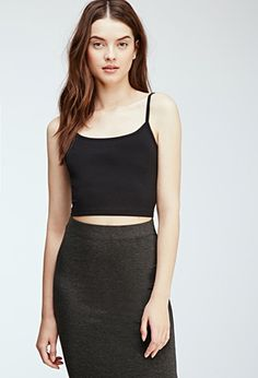 Cropped Knit Cami | Forever 21 - 2000114911