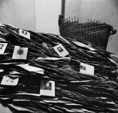 Nazi Party Membership files, near Munich, 1945