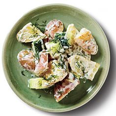 Sour Cream-Dill Potato Salad | MyRecipes.com