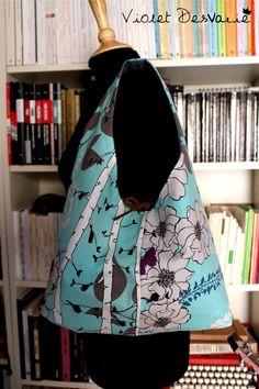 Bolso Reversible Reversible Bag por VioletDesvarie en Etsy