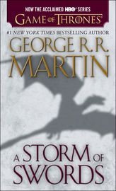 A Storm of Swords   http://paperloveanddreams.com/book/419935315/a-storm-of-swords   THE BOOK BEHIND THE THIRD SEASON OF GAME OF THRONES,AN ORIGINAL SERIES NOW ON HBO.Here is the third volume in George R. R. Martin�s magnificent cycle of novels that includes A Game of Thrones and A Clash of Kings. As a whole, this series comprises a genuine masterpiece of modern fantasy, bringing together the best the genre has to offer. Magic, mystery, intrigue, romance, and adventure fill these pages and…