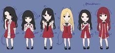 Gfriend And Bts, Jung Eun Bi, Fanarts Anime, G Friend, Kpop Groups, Korean Singer, Fashion Art, Chibi, Artworks