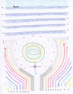 "cavinmorrisgallery: "" John Devlin The Birth of Venus, 3/30-31/2016 Ink and crayon on paper 11 x 8.5 inches 27.9 x 21.6 cm JDev 13 http://www.cavinmorris.com """