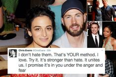 FYI, Chris Evans Has Been Fighting A White Supremacist On Twitter And It's Glorious