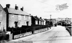 Beddau, Tynant Road c.1955, from Francis Frith