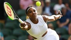Serena williams wins wimbledon fashion with her meaningful nike 'broosh' Serena Williams Wimbledon, Serena Williams Wins, Richard Williams, Nike Dresses, Nike Outfits, Sport Outfits, Julia Goerges, Nike Website, Blue Nike