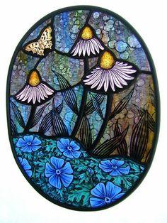 Stained glass windoe