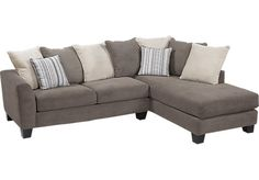 Shop+for+a+Meridian+Springs+Charcoal+2+Pc+Sectional+at+Rooms+To+Go.+Find+Sectionals+that+will+look+great+in+your+home+and+complement+the+rest+of+your+furniture.+#iSofa+#roomstogo $788.00