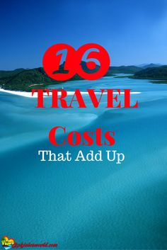 We all love going away on vacation, but we don't love the Travel costs associated with it. Usually, the big costs are taken into account before leaving the house — the hotel, the flight, the attractions, or are they? #travelcosts