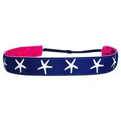 Starfish Stunner~ Non Slip Adjustable Headband