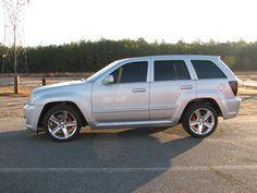 2006 jeep gc srt8 silver - Google Search