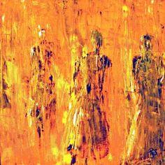 rene romero schuler art  | Bless Painting by Rene Romero Schuler - Bless Fine Art Prints and ...