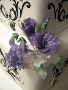 Gum Paste Flowers by Elegant Cake Creations AZ, via Flickr
