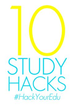 Ready for Midterms? 10 Study Hacks to #HackYourEdu