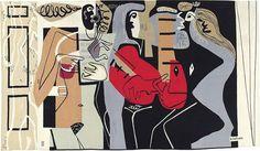 Le Corbusier - Les trois musiciennes, Conceived in 1958