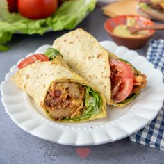 Blt Wrap, Pizza Wraps, Tapas, Lunch Wraps, Happy Foods, Lunch Snacks, Wrap Sandwiches, Meals For The Week, Love Food