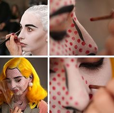 pop art make up - Google Search