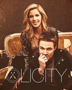 Olicity = Felicity Smoak & Oliver Queen! THE SMOLDER... it just needs to happen!!!! (Arrow)