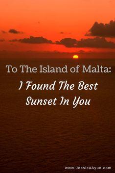 Without no definite reason, the sundown in you, #IslandofMalta, gave me so much thrill and pleasure.  #Malta #Europe #LettersToTheGlobe