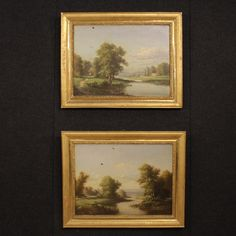 1500€ Pair of French paintings oil on canvas of the 19th century. Visit our website www.parino.it #antiques #antiquariato #painting #art #antiquities #antiquario #canvas #oiloncanvas #landscape #quadro #dipinto #arte #tela #decorative #interiordesign #homedecoration #antiqueshop #antiquestore