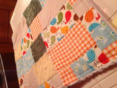Baby quilt!